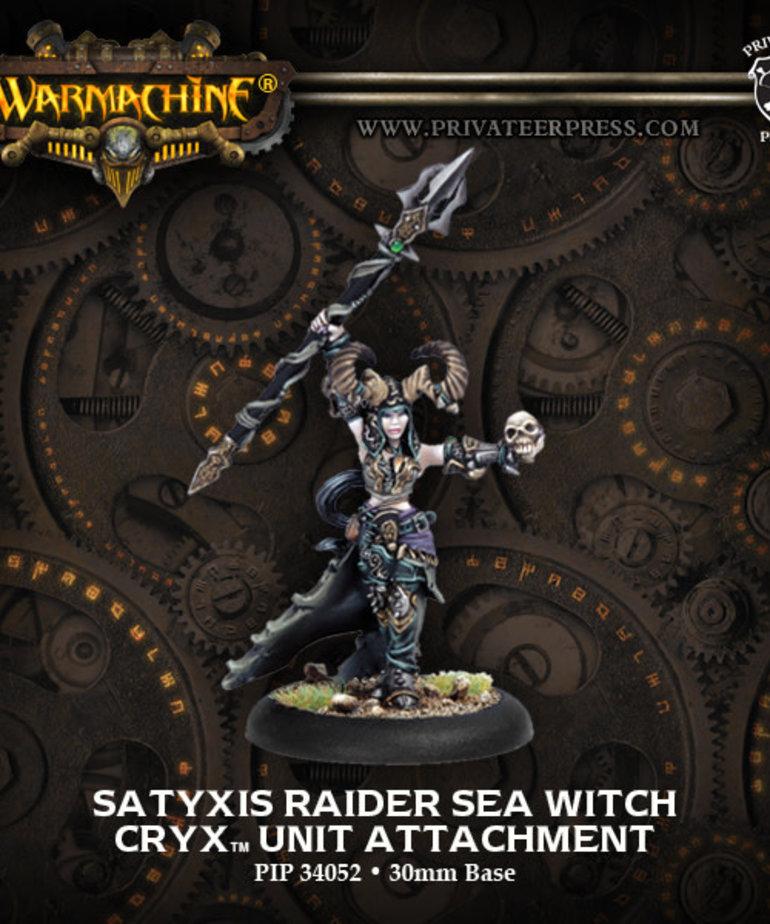 Privateer Press - PIP Warmachine - Cryx - Satyxis Raider Sea Witch - Unit Attachment