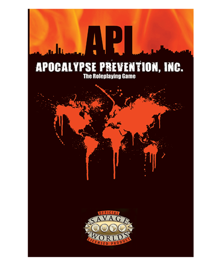 CLEARANCE Savage Worlds: Apocalypse Prevention, Inc. (DOMESTIC ONLY)