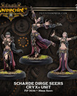Privateer Press - PIP Warmchaine - Cryx - Scharde Dirge Seers - Unit