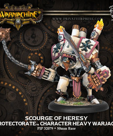 Privateer Press - PIP Warmachine - Protectorate of Menoth - Scourge of Heresy - Character Heavy Warjack (Upgrade Kit)
