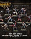Privateer Press - PIP Warmachine - Mercenaries - Sea Dog Crew - Privateer Unit
