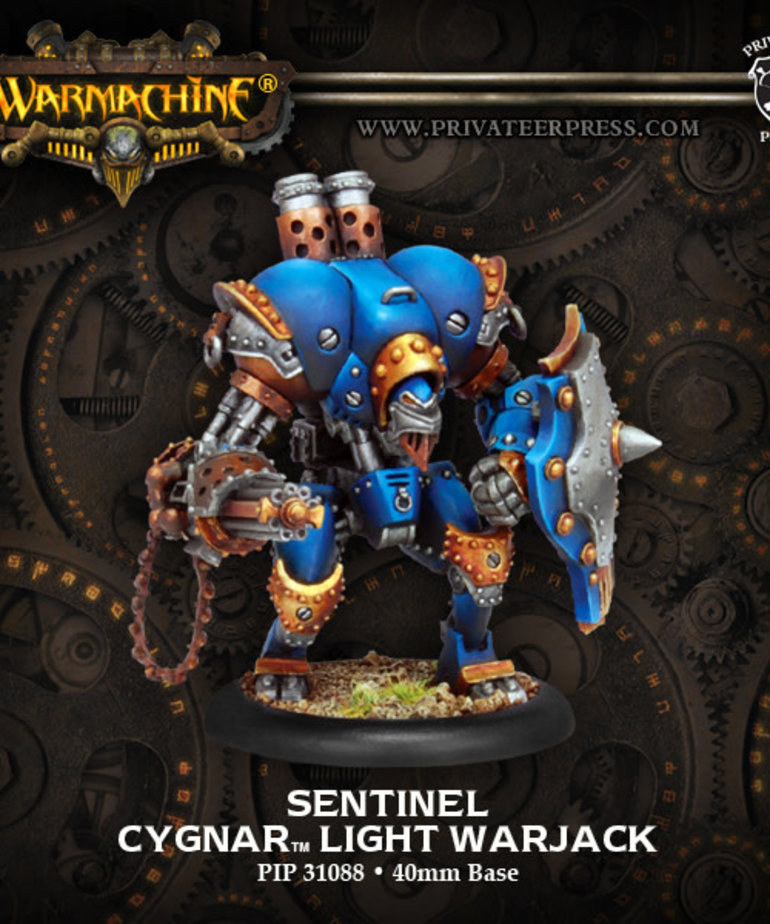 Privateer Press - PIP Warmachine - Cygnar - Sentinel - Light Warjack