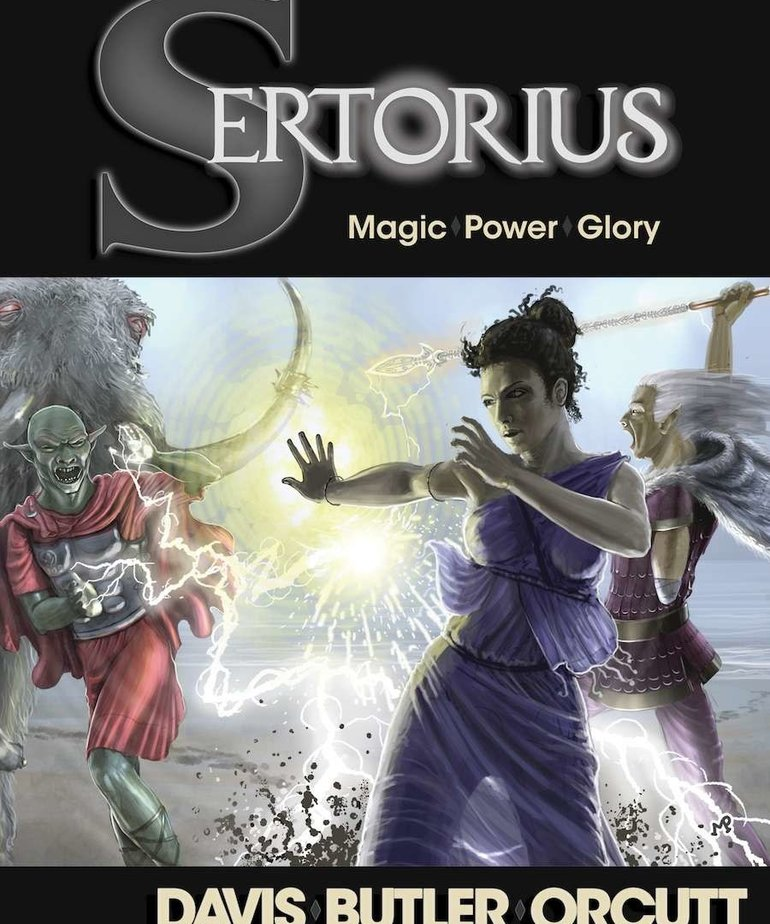 CLEARANCE Sertorius Roleplaying Game (DOMESTIC ONLY)