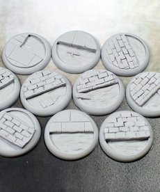 Secret Weapon Miniatures - SWM Sewer Works 30mm Bases (10) BLACK FRIDAY NOW