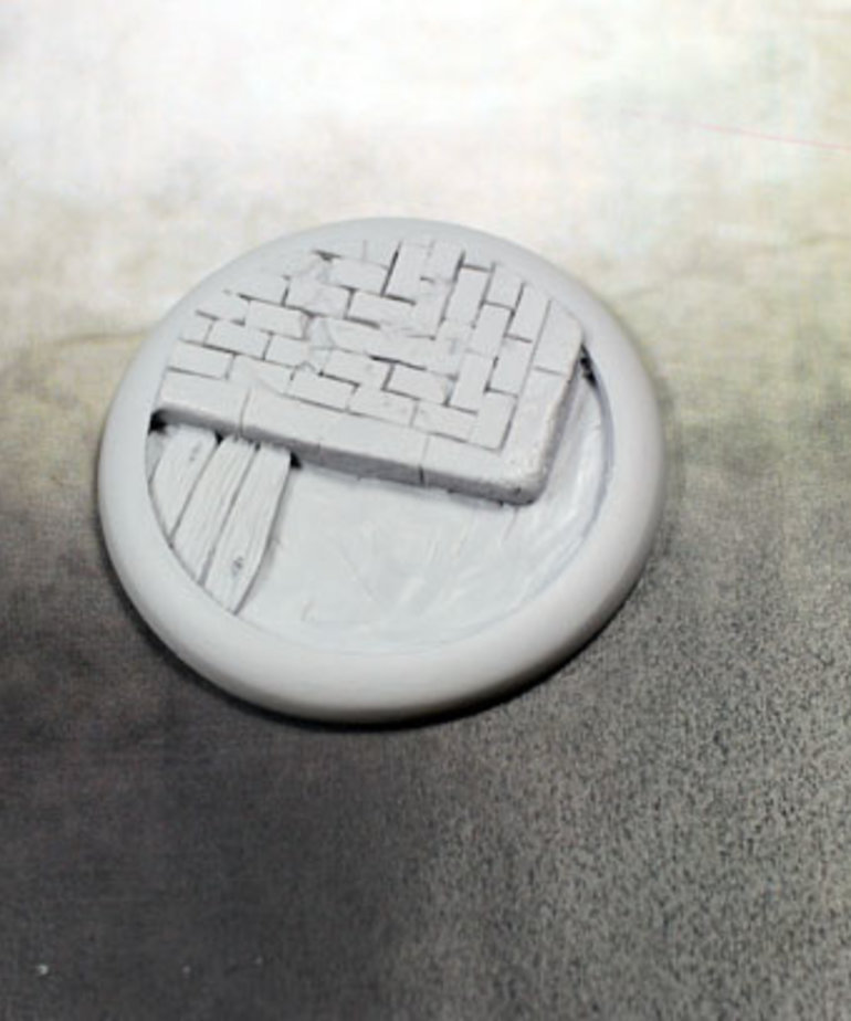 Secret Weapon Miniatures - SWM CLEARANCE Sewer Works 50mm Base 02 Secret Weapon Bases