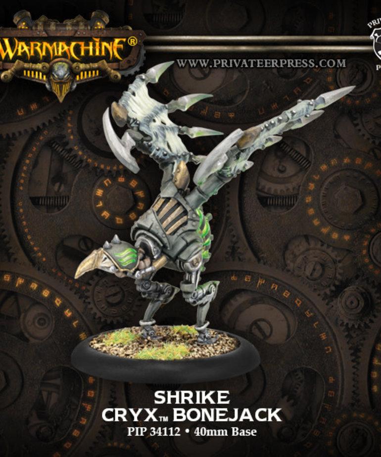 Privateer Press - PIP Warmachine - Cryx - Shrike - Bonejack