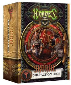 Privateer Press - PIP Hordes - Skorne - 2016 Faction Deck MK III