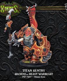 Privateer Press - PIP Hordes - Skorne - Titan Gladiator / Cannoneer / Sentry - Heavy Warbeast