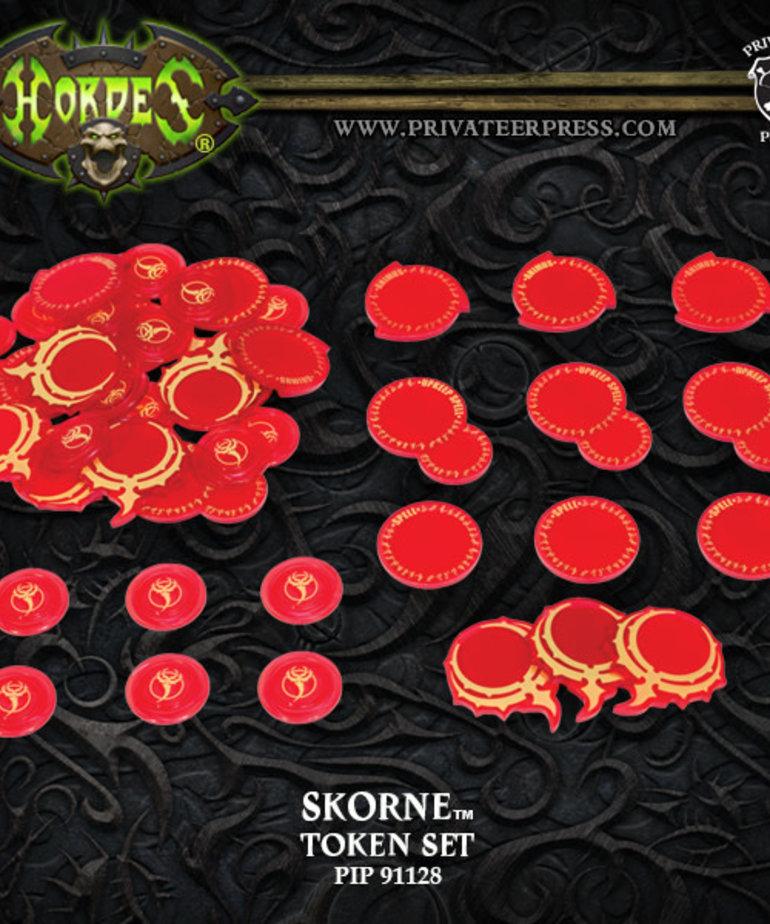 Privateer Press - PIP Hordes - Skorne - Token Set Mark III