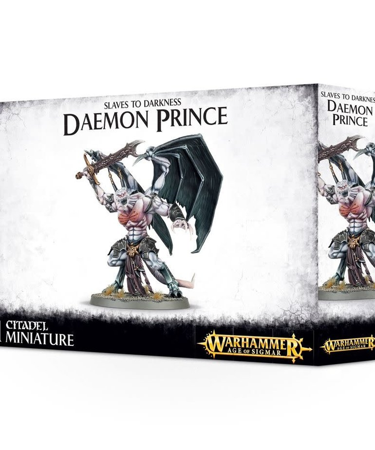 Games Workshop - GAW Warhammer Age of Sigmar - Slaves to Darkness - Daemon Prince