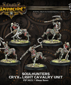 Privateer Press - PIP Warmachine - Cryx - Soulhunters - Light Cavalry Unit