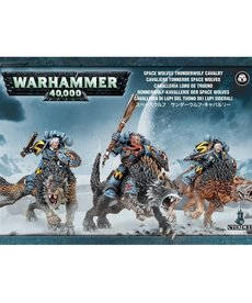Games Workshop - GAW Warhammer 40k - Space Wolves - Thunderwolf Cavalry