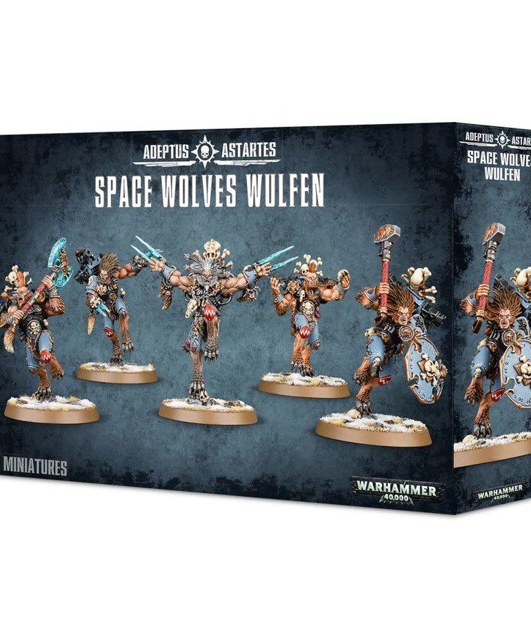 Games Workshop - GAW Warhammer 40k - Space Wolves - Wulfen