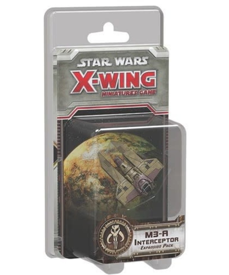 Fantasy Flight Games - FFG CLEARANCE - Star Wars: X-Wing Miniatures Game - M3-A Interceptor - Expansion Pack