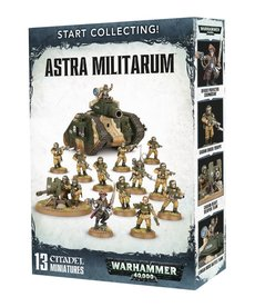 Games Workshop - GAW Warhammer 40K - Start Collecting!: Astra Militarum
