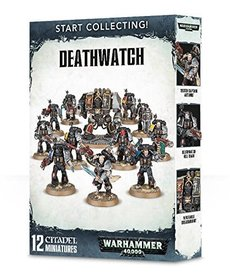 Games Workshop - GAW Warhammer 40K - Start Collecting!: Deathwatch
