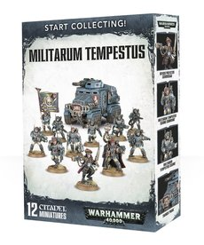 Games Workshop - GAW Start Collecting! - Militarum Tempestus