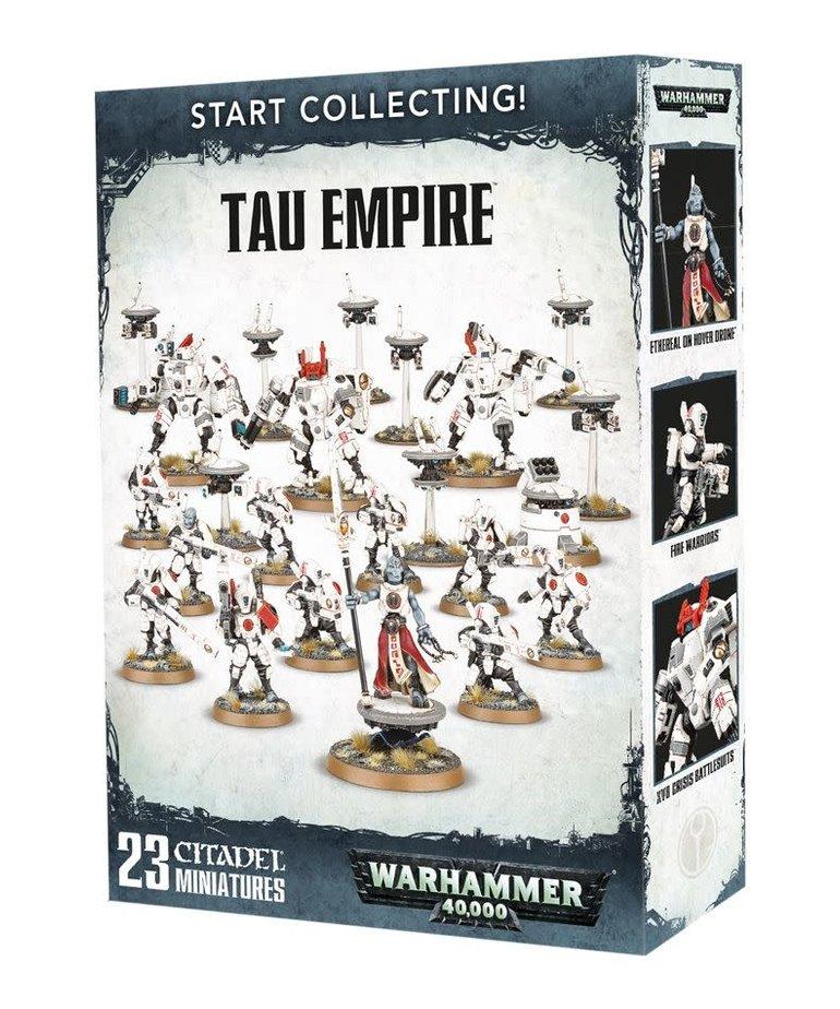 Games Workshop - GAW Warhammer 40K - Start Collecting!: Tau Empire