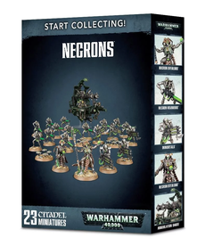 Games Workshop - GAW Warhammer 40k - Start Collecting!: Necrons