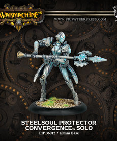 Privateer Press - PIP Warmachine - Convergence of Cyriss - Steelsoul Protector - Solo