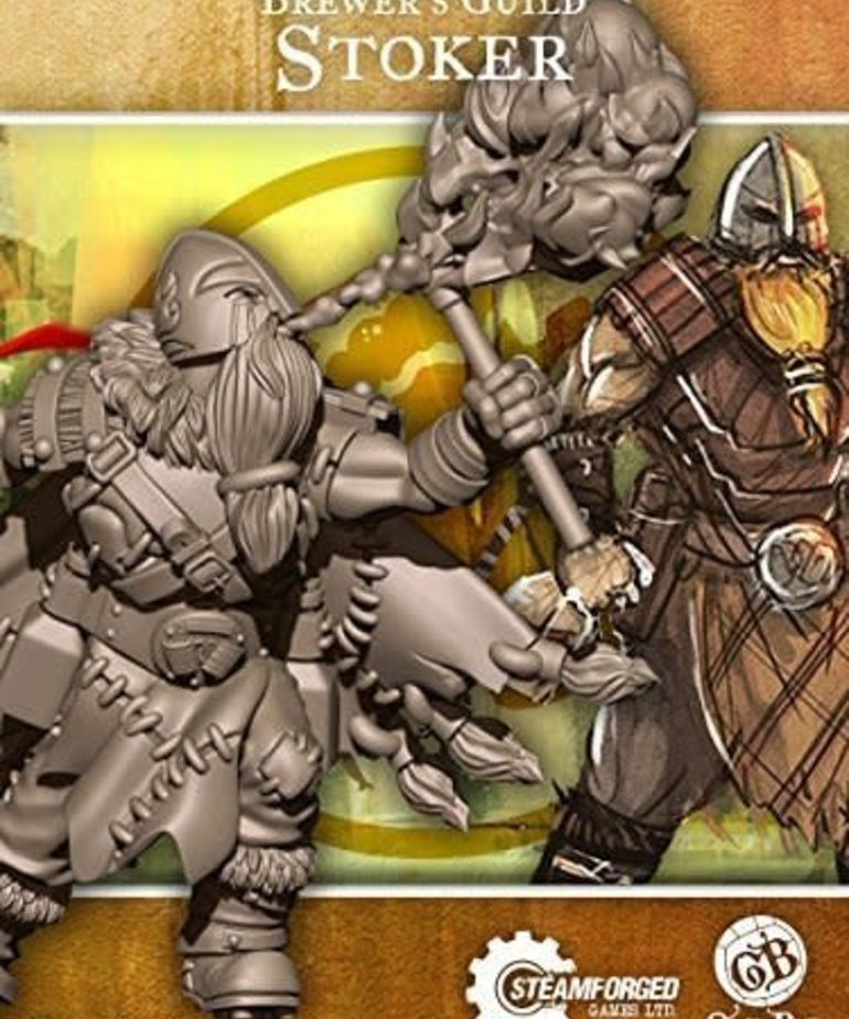Steamforged Games LTD - STE CLEARANCE Stoker Guild Ball