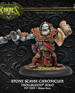 Privateer Press - PIP Hordes - Trollbloods - Stone Scribe Chronicler - Solo