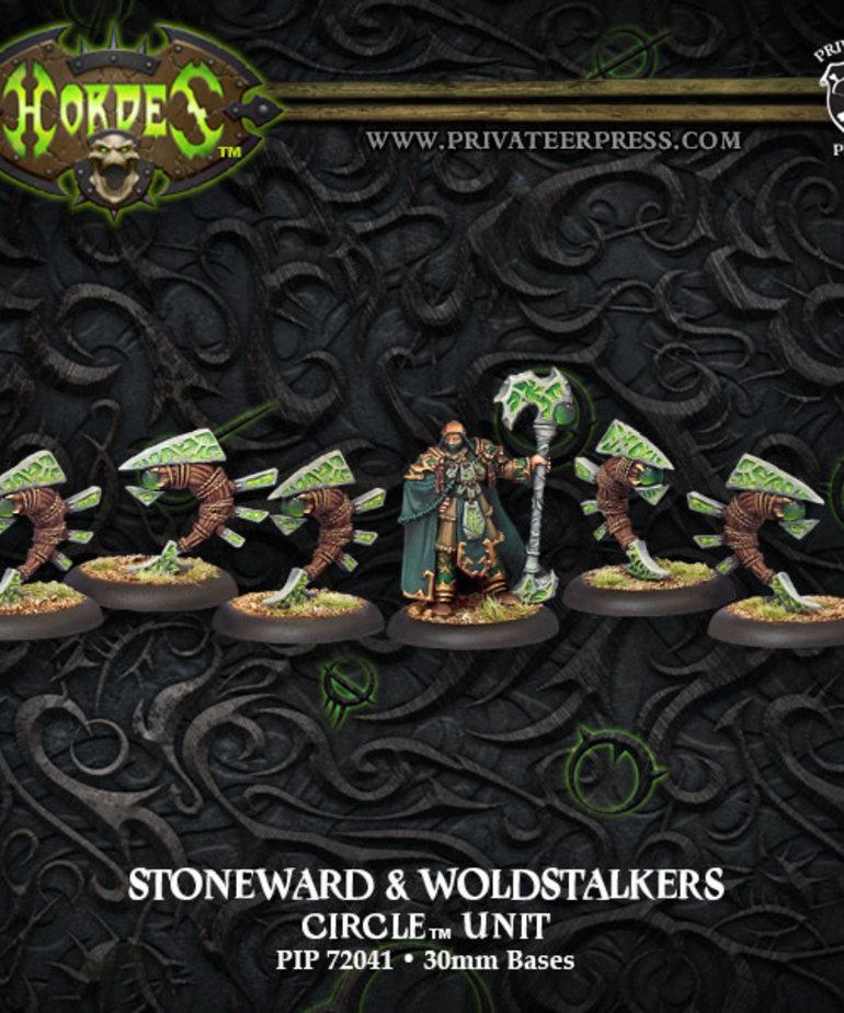 Privateer Press - PIP Hordes - Circle Orboros - Stoneward & Woldstalkers - Unit