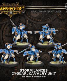 Privateer Press - PIP Warmachine - Cygnar - Storm Lances Cavalry Unit