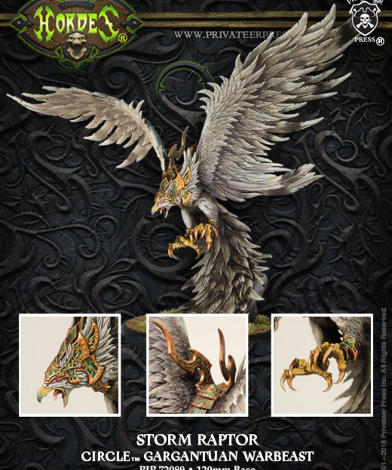 Privateer Press - PIP Hordes - Circle Orboros - Storm Raptor - Gargantuan Warbeast