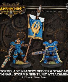 Privateer Press - PIP Stormblade Infantry Officer & Standard