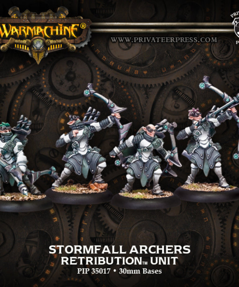 Privateer Press - PIP Warmachine - Retribution of Scyrah - Stormfall Archers - Unit