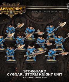 Privateer Press - PIP Warmachine - Cygnar - Stormguard - Storm Knight Unit