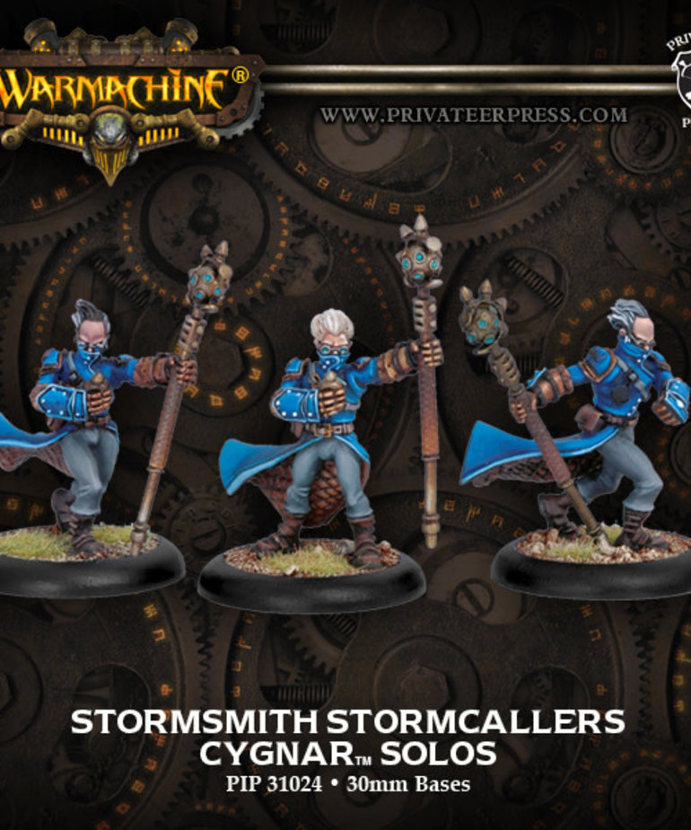 Privateer Press - PIP Warmachine - Cygnar - Stormsmith Stormcallers - Solos