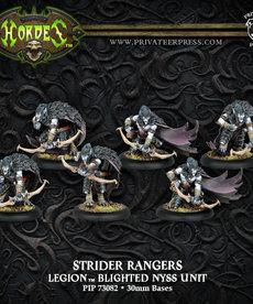 Privateer Press - PIP Hordes - Legion of Everblight - Strider Blightblades / Rangers - Blighted Nyss Unit