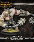 Privateer Press - PIP Warmachine - Mercenaries - Subduer / Warden / Wrecker - Cephalyx Heavy Monstrosity