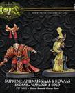 Privateer Press - PIP Hordes - Skorne - Supreme Aptimus Zaal & Kovaas - Warlock & Solo (Zaal 1)