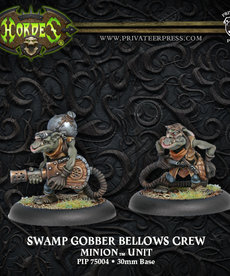 Privateer Press - PIP Hordes - Minions - Swamp Gobber Bellows Crew - Unit