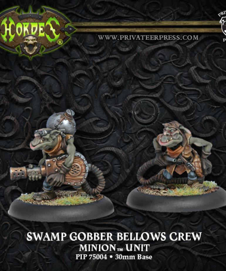 Privateer Press - PIP Hordes - Minions - Swamp Gobber Bellows Crew - Unit