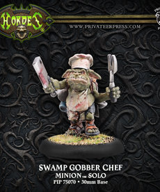 Privateer Press - PIP Hordes - Minions - Swamp Gobber Chef - Solo