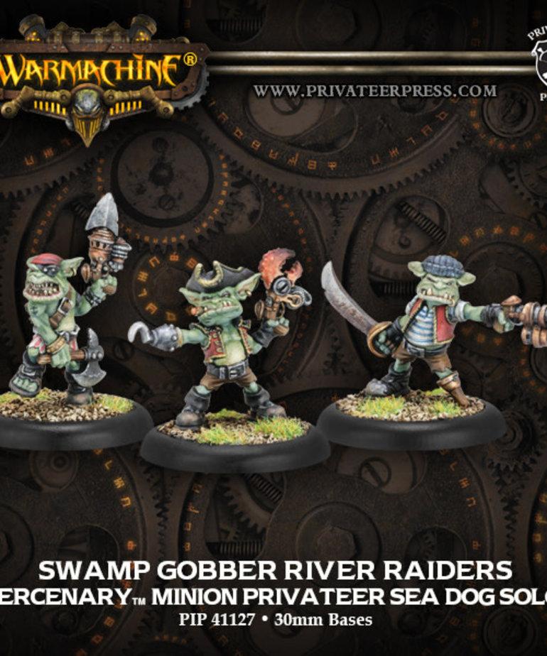Privateer Press - PIP Warmachine - Mercenaries - Swamp Gobber River Raiders - Minion Privateer Sea Dog Solos