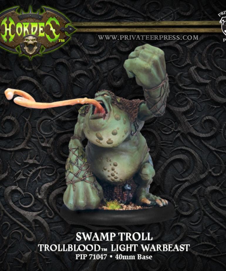 Privateer Press - PIP Hordes - Trollbloods - Swamp Troll - Light Warbeast