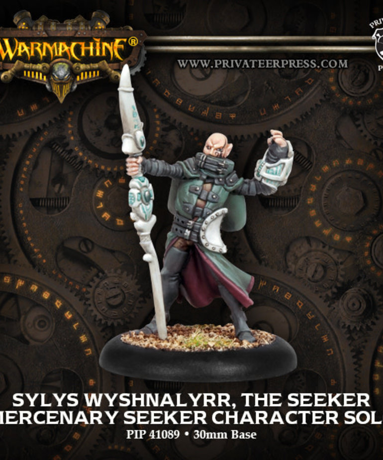 Privateer Press - PIP Warmachine - Mercenaries - Sylys Wyshnalyrr, The Seeker