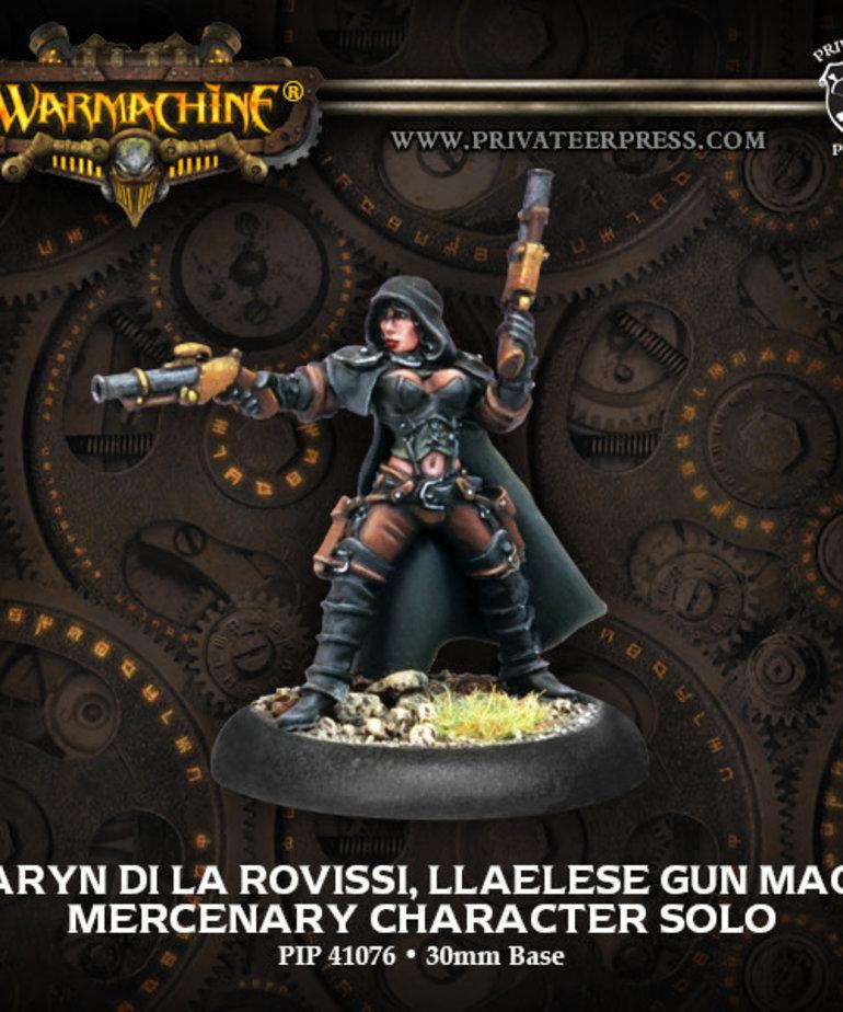 Privateer Press - PIP Warmachine - Mercenaries - Taryn di la Rovissi, Llaelese Gun Mage - Character Solo