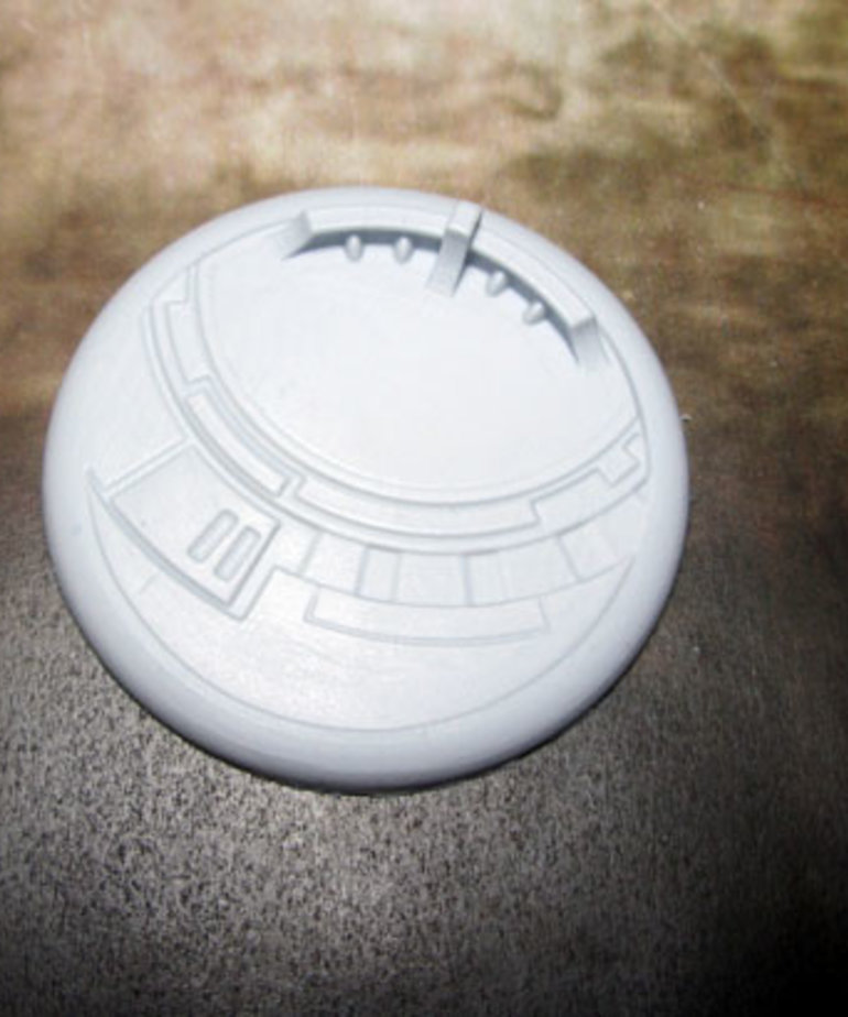 Secret Weapon Miniatures - SWM CLEARANCE Tau Ceti 50mm Base 01 Secret Weapon Bases
