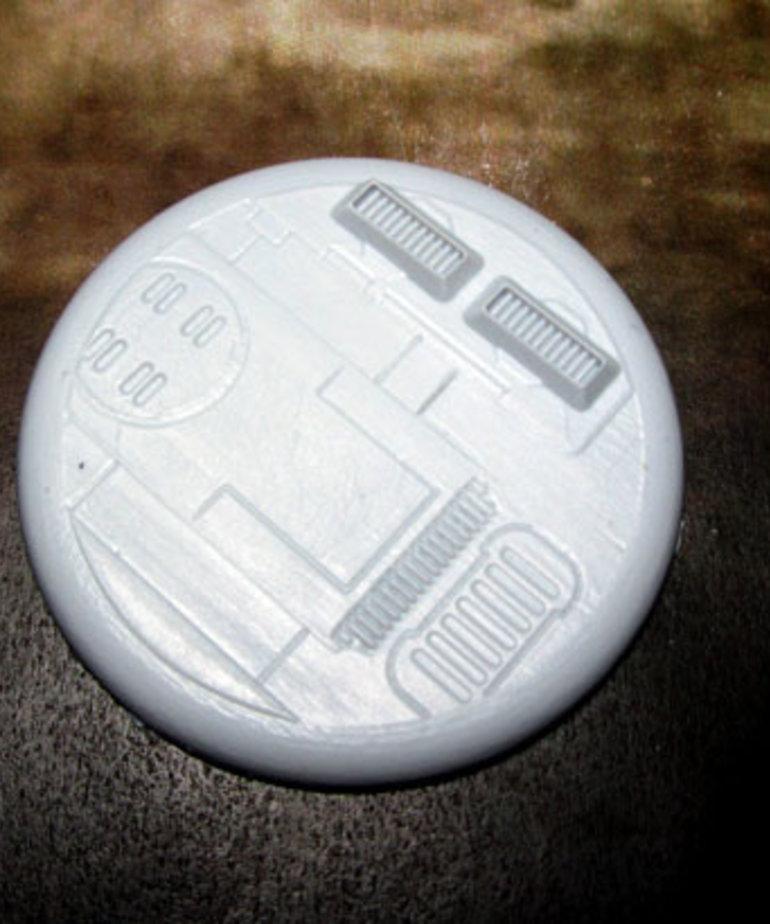 Secret Weapon Miniatures - SWM CLEARANCE Tau Ceti 50mm Base 02 Secret Weapon Bases
