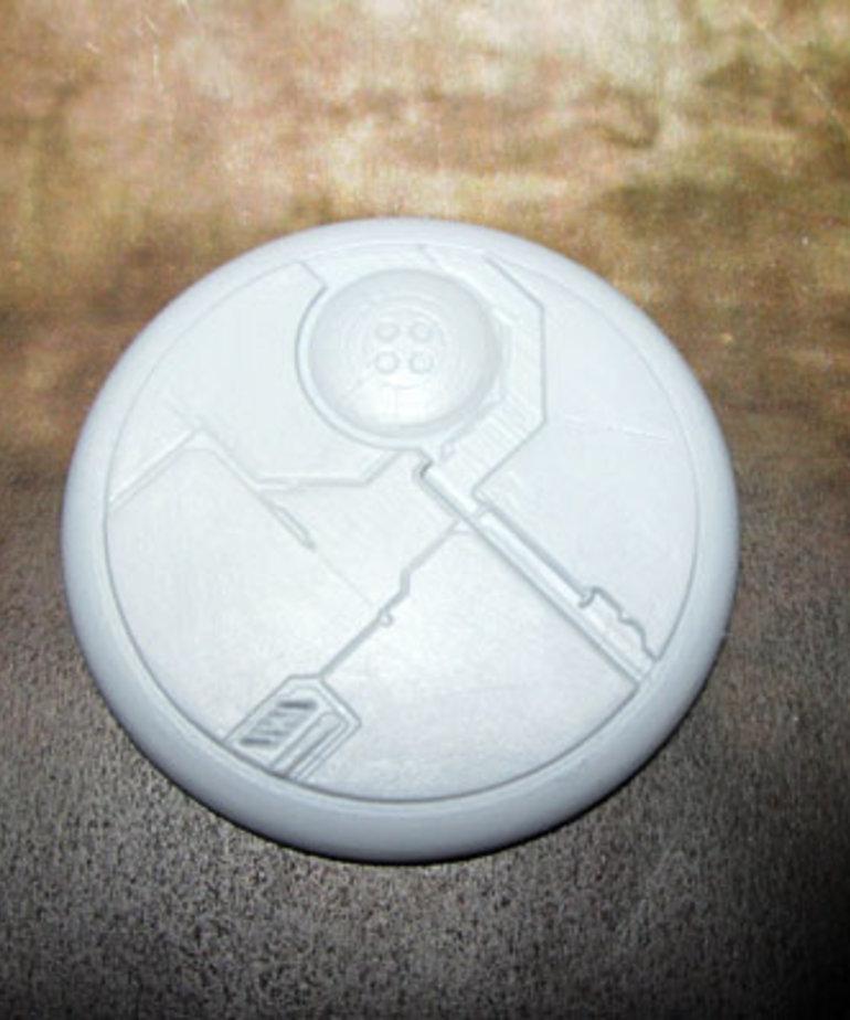 Secret Weapon Miniatures - SWM CLEARANCE Tau Ceti 50mm Base 03 Secret Weapon Bases