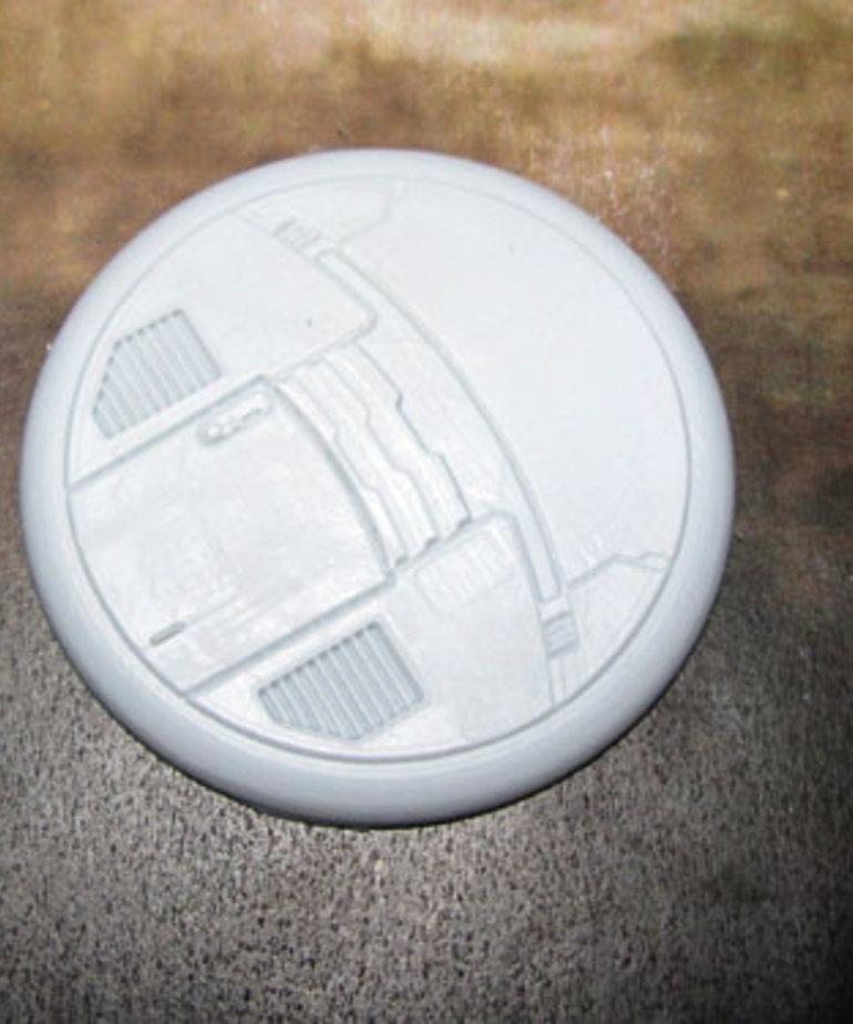 Secret Weapon Miniatures - SWM CLEARANCE Tau Ceti 50mm Base 04 Secret Weapon Bases