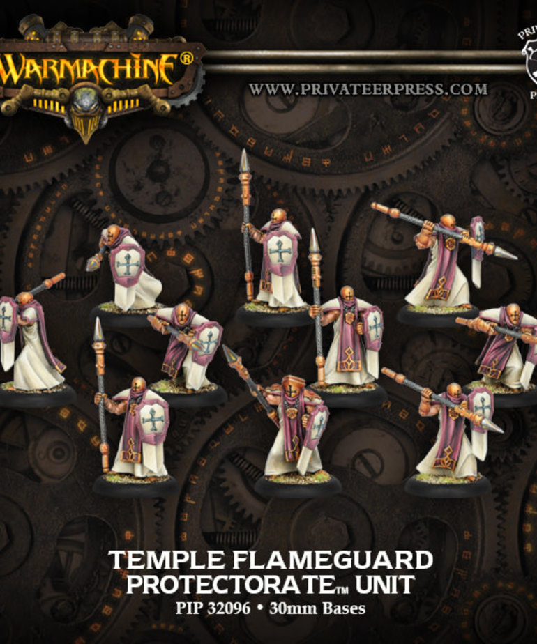 Privateer Press - PIP Warmachine - Protectorate of Menoth - Temple Flameguard - Unit
