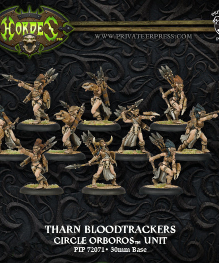 Privateer Press - PIP Hordes - Circle Orboros - Tharn Bloodtrackers - Unit