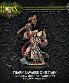 Privateer Press - PIP Hordes - Circle Orboros - Tharn Ravager Chieftain - Unit Attachment
